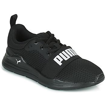 Schuhe Jungen Sneaker Low Puma WIRED PS Schwarz