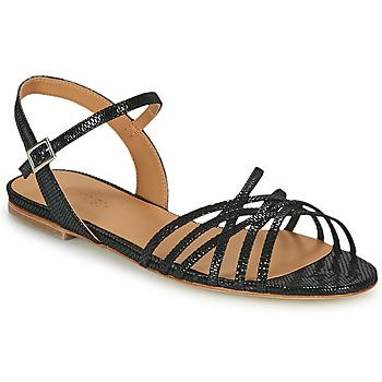 Schuhe Damen Sandalen / Sandaletten Emma Go SASKIA Schwarz