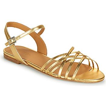 Schuhe Damen Sandalen / Sandaletten Emma Go SASKIA Gold