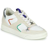 Schuhe Damen Sneaker Low Mam'Zelle ARTIX Weiss / Multicolor