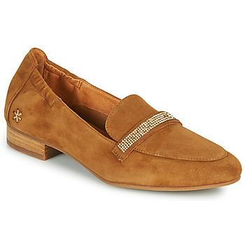 Schuhe Damen Slipper Mam'Zelle ZAVON Braun
