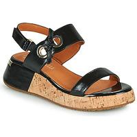 Schuhe Damen Sandalen / Sandaletten Mam'Zelle CLIP Schwarz
