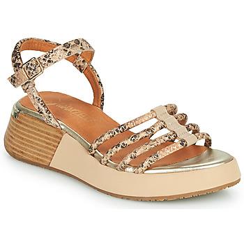 Schuhe Damen Sandalen / Sandaletten Mam'Zelle CALVA Beige