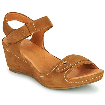 Schuhe Damen Sandalen / Sandaletten Mam'Zelle DARDA Cognac