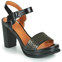 Schuhe Damen Sandalen / Sandaletten Mam'Zelle JOBA Schwarz