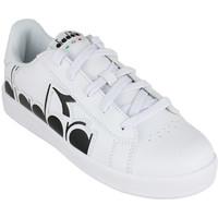 Schuhe Kinder Sneaker Low Diadora game p bolder gs c0351 Schwarz