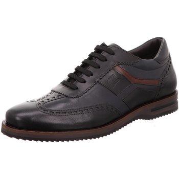 Schuhe Herren Derby-Schuhe Galizio Torresi Schnuerschuhe Vegas Nero Blue 16698 schwarz