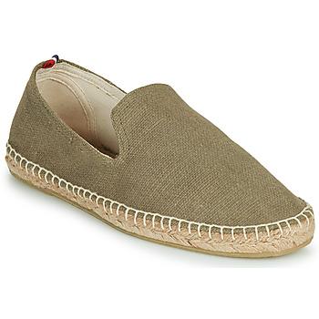 Schuhe Herren Leinen-Pantoletten mit gefloch 1789 Cala SLIPON COTON Grün