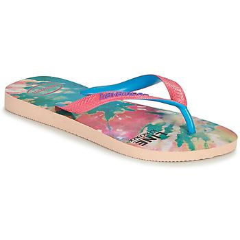 Schuhe Damen Zehensandalen Havaianas TOP FASHION Rose