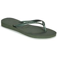 Schuhe Damen Zehensandalen Havaianas SLIM Grün