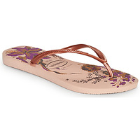 Schuhe Damen Zehensandalen Havaianas SLIM ORGANIC Rose