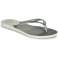 Schuhe Damen Zehensandalen Havaianas SLIM PALETTE GLOW Weiss