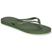 Schuhe Damen Zehensandalen Havaianas SLIM GLITTER II Grün