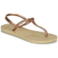 Schuhe Damen Sandalen / Sandaletten Havaianas TWIST Beige