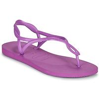 Schuhe Damen Sandalen / Sandaletten Havaianas LUNA Violett