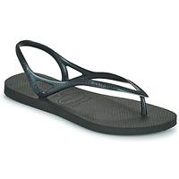 Schuhe Damen Sandalen / Sandaletten Havaianas SUNNY II Schwarz