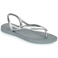 Schuhe Damen Sandalen / Sandaletten Havaianas SUNNY II Silbern