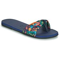 Schuhe Damen Zehensandalen Havaianas YOU SAINT TROPEZ Blau