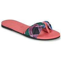 Schuhe Damen Zehensandalen Havaianas YOU SAINT TROPEZ Rose