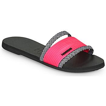 Schuhe Damen Pantoffel Havaianas YOU TRANCOSO Schwarz
