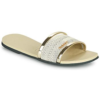 Schuhe Damen Pantoffel Havaianas YOU TRANCOSO PREMIUM Beige