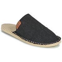 Schuhe Pantoffel Havaianas ESPADRILLE MULE ECO Schwarz