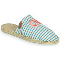 Schuhe Damen Leinen-Pantoletten mit gefloch Havaianas ESPADRILLE MULE FUN ECO Blau
