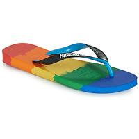 Schuhe Zehensandalen Havaianas TOP LOGOMANIA MULTICOLOR Multicolor