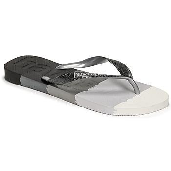 Schuhe Zehensandalen Havaianas TOP LOGOMANIA MULTICOLOR Schwarz