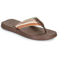 Schuhe Herren Zehensandalen Havaianas NEW URBAN WAY Schwarz / Braun