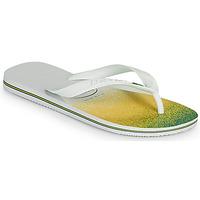 Schuhe Zehensandalen Havaianas BRASIL FRESH Weiss