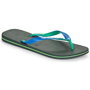 Schuhe Herren Zehensandalen Havaianas BRASIL MIX Schwarz / Blau