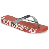 Schuhe Zehensandalen Havaianas TOP LOGOMANIA HIGHTECH Rot