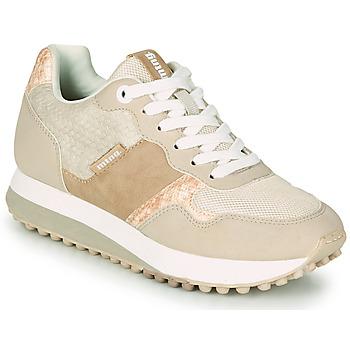 Schuhe Damen Sneaker Low MTNG 60033 Beige