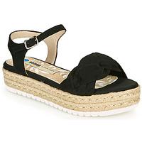 Schuhe Damen Sandalen / Sandaletten MTNG 50687 Schwarz