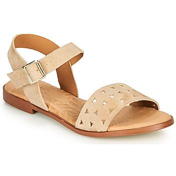 Schuhe Damen Sandalen / Sandaletten MTNG 51062 Beige