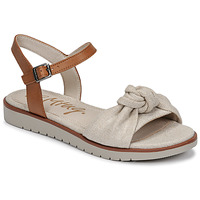 Schuhe Damen Sandalen / Sandaletten MTNG 50506 Beige