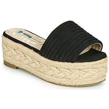 Schuhe Damen Pantoffel MTNG 51118 Schwarz