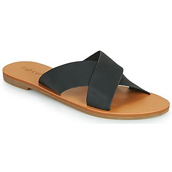 Schuhe Damen Pantoffel Rip Curl BLUEYS Schwarz