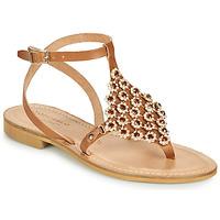 Schuhe Damen Sandalen / Sandaletten Tosca Blu PERLA Camel
