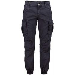 Kleidung Herren Cargo Hosen Scout Cargo Männer Blau Hose (pnt1389-blau) Blau