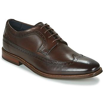 Schuhe Herren Derby-Schuhe Base London HAVISHAM Braun