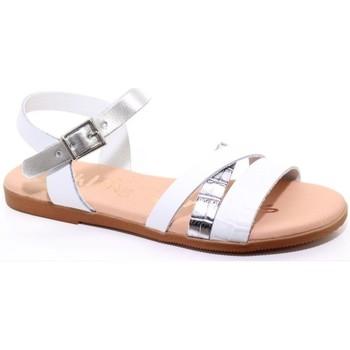 Schuhe Mädchen Sandalen / Sandaletten Oh My Sandals 24562-24 Weiss
