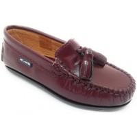 Schuhe Kinder Slipper Atlanta 24268-18 Bordeaux