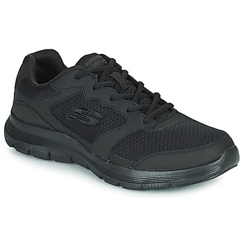 Schuhe Herren Sneaker Low Skechers FLEX ADVANTAGE 4.0 Schwarz