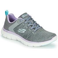 Schuhe Damen Sneaker Low Skechers FLEX APPEAL 4.0 Grau  / Pink