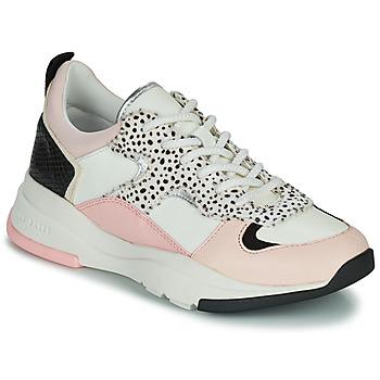 Schuhe Damen Sneaker Low Ted Baker IZSLA Weiss / Rose