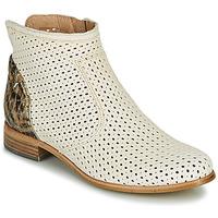 Schuhe Damen Boots Muratti REBAIS Elfenbein