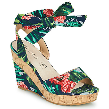 Schuhe Damen Sandalen / Sandaletten Les Petites Bombes BELA Multicolor