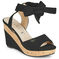 Schuhe Damen Sandalen / Sandaletten Les Petites Bombes BELA Schwarz